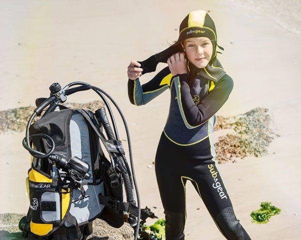 Børneudstyr - alt slags dykkerudstyr til børn