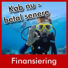 Diving 2000 tilbyder rentefri finansiering - køb nu - betal senere