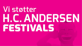 Vi støtter H. C. Andersen festivalen